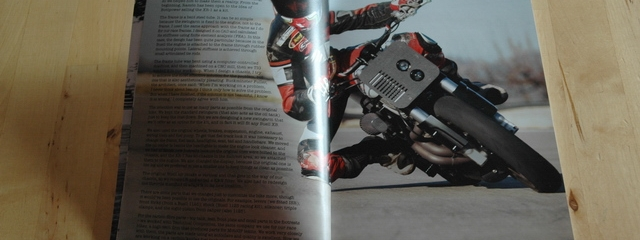 BOTT XR1 in Sideburn magazine