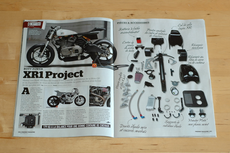 BOTT XR1 in Freeway magazine.