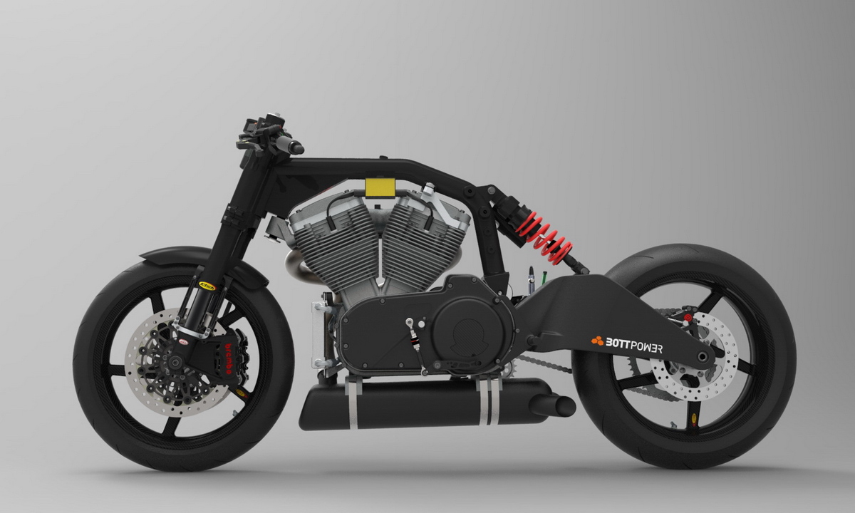 Bottpower cafe racer