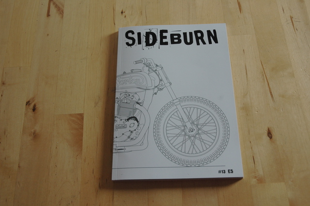 Issue #13 of Sideburn magazine.