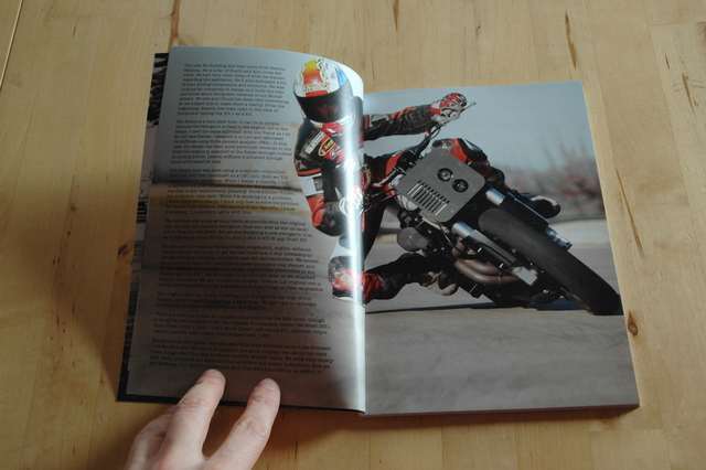 The BOTT XR1 in Sideburn magazine.