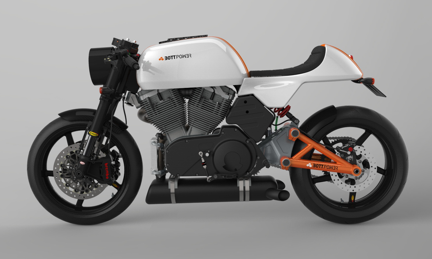 BOTT cafe racer, version one  | Bottpower