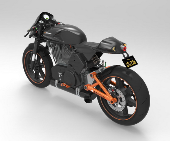 Bottpower cafe racer version 3b