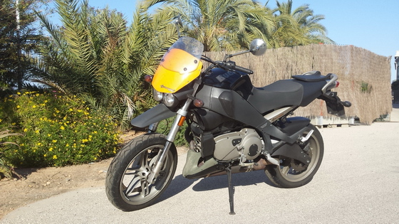 Buell Ulysses donor bike