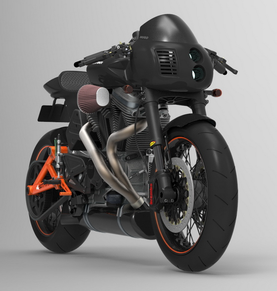 Bottpower cafe racer, version 3