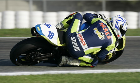 Jordi Torres, SuperSport poleman in Albacete.